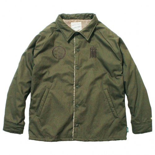 GOHEMP ( ゴーヘンプ ) ジャケット MEN'S COACH JACKET ( KHAKI GREEN ) GHJ5040AMC