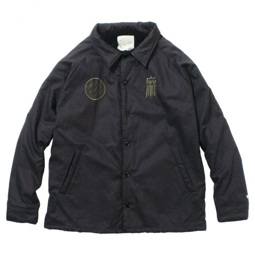 GOHEMP ( ゴーヘンプ ) ジャケット MEN'S COACH JACKET ( DEEP CHARCOAL ) GHJ5040AMC