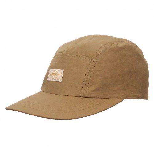 GOWEST ( ゴーウエスト ) ジェットキャップ JOURNEY CAP ( CAMEL ) GWG0118SNL