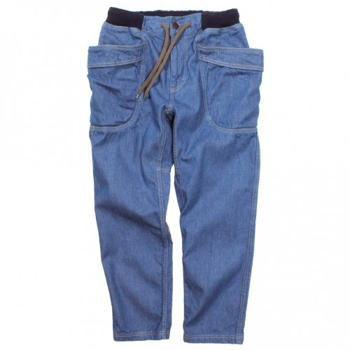 GOHEMP ( ゴーヘンプ ) LADY'S VENDOR ANKLE CUT PANTS ( BLUE ) GHP1134PND