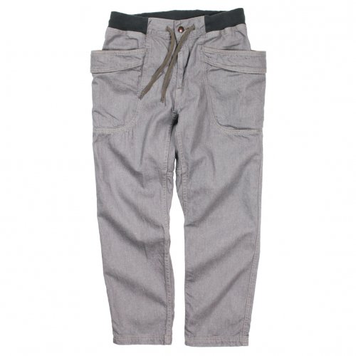 GOHEMP ( ゴーヘンプ ) MEN'S VENDOR ANKLE CUT PANTS ( GRAY ) GHP1134PND