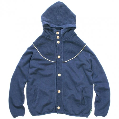 GOHEMP ( ゴーヘンプ ) パーカー LADY'S MONGOLIAN HOODY PARKA ( JEANS BLUE ) GHC5000BKN