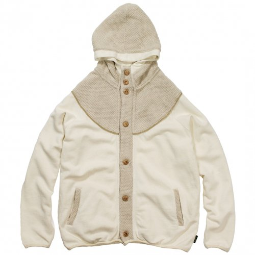 GOHEMP ( ゴーヘンプ ) パーカー LADY'S MONGOLIAN HOODY PARKA ( NATURAL ) GHC5000BKN