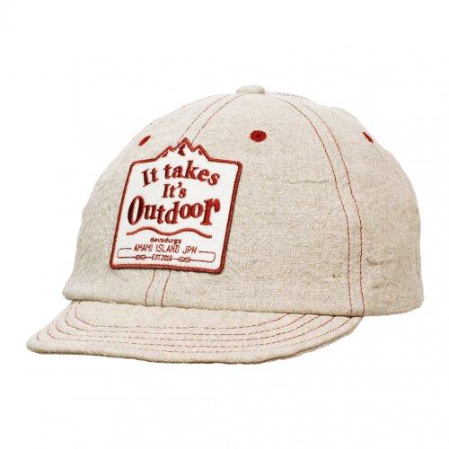DEVADURGA ( デヴァドゥルガ ) キャップ CLUNKY CAP 7 ( NATURAL ) dg-997