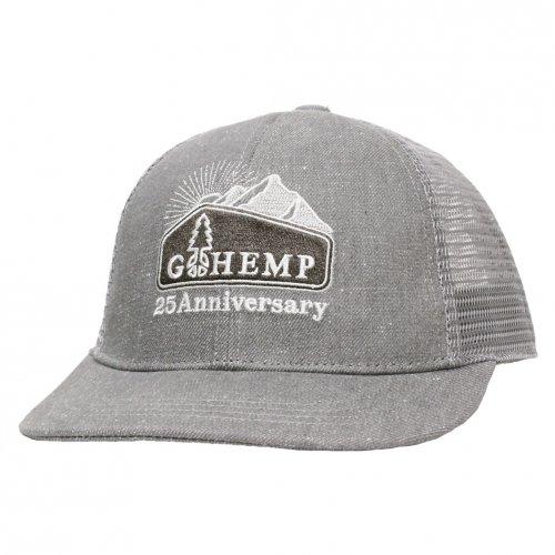 GOHEMP ( ゴーヘンプ ) ANNIVERSARY LOGO MESH CAP ( CHARCOAL ) GHG0129SNL