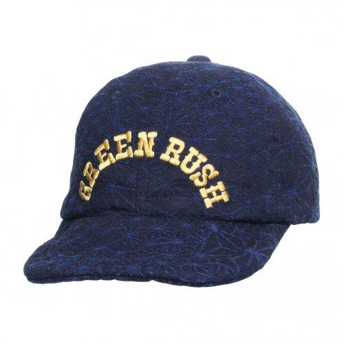 GOHEMP ( ゴーヘンプ ) キャップ GREEN RUSH 6PANEL CAP ( COLLAGE ) GHG0121SNL