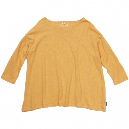 GOHEMP ( ゴーヘンプ ) LADY'S SUNNY WIDE TEE ( SUNSET GOLD ) GHC4287RG