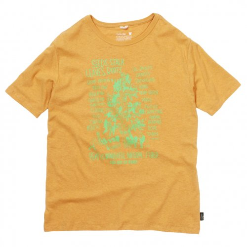 "GOHEMP ( ゴーヘンプ ) Tシャツ MEN'S ""HEMP TREE"" BASIC S/SL TEE ( SUNSET GOLD ) GHC4200HTR"