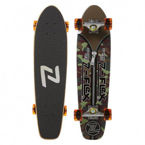 "Z-FLEX ( ジーフレックス ) クルーザースケートボード 29インチ JAY ADAMS ""ZIPPER HEAD"" CAMO"