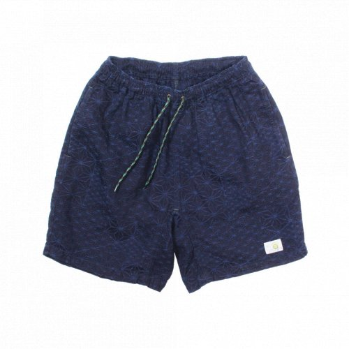 GOHEMP ( ゴーヘンプ ) ショートパンツ MEN'S HEMP JAM SHORTS ( INDIGO ) GHP1137CPJ