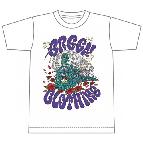 GREENCLOTHING ( グリーンクロージング ) 2019SUMMER 予約商品 Tシャツ MEN'S GREEN CLOTHING G.C TRAIN #2