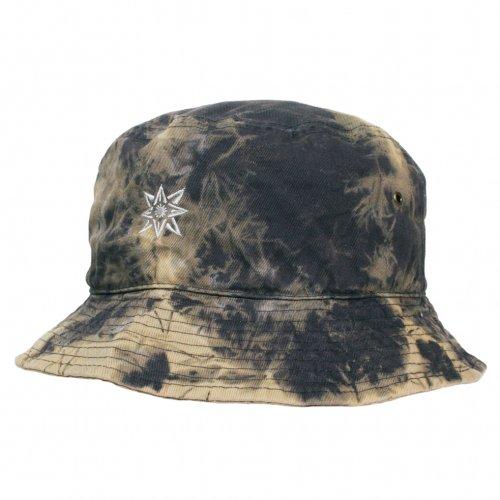 JAVARA ( ジャバラ ) ハット TIE DYE HAT ( BLACK )