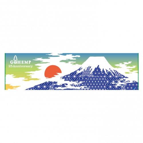 GOHEMP ( ゴーヘンプ ) × CHAORAS 手ぬぐい ASAFUJI TENUGUI GHG0209TNG