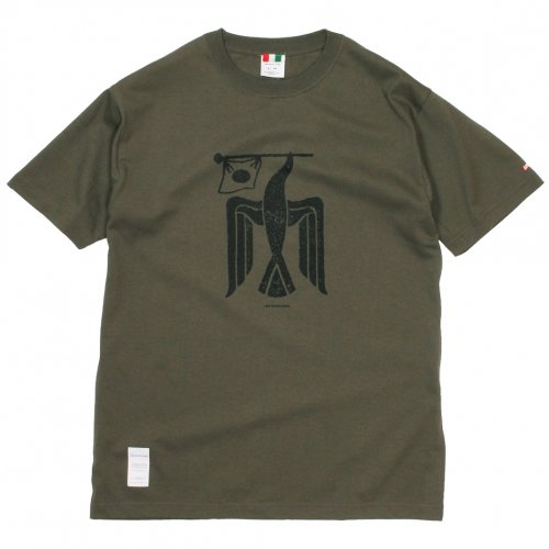 LIBE ( ライブ ) Tシャツ 国旗鳥 TEE 19S03