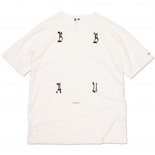 LIBE ( ライブ ) Tシャツ BABU WASHED TYPO TEE 19S01
