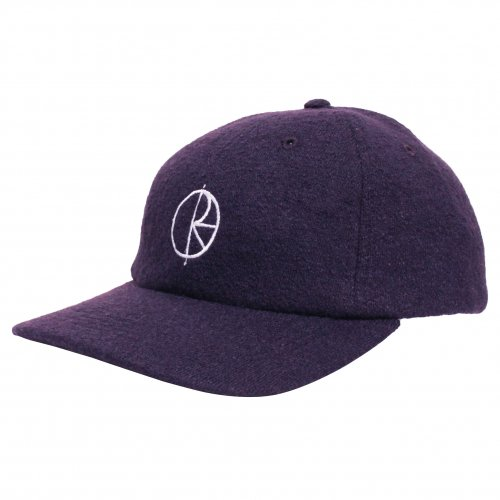 POLAR SKATE CO. ( ポーラー ) キャップ BOILED WOOL CAP ( PLUM )