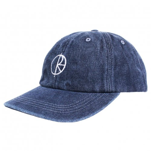 POLAR SKATE CO. ( ポーラー ) キャップ DENIM CAP ( BLUE )
