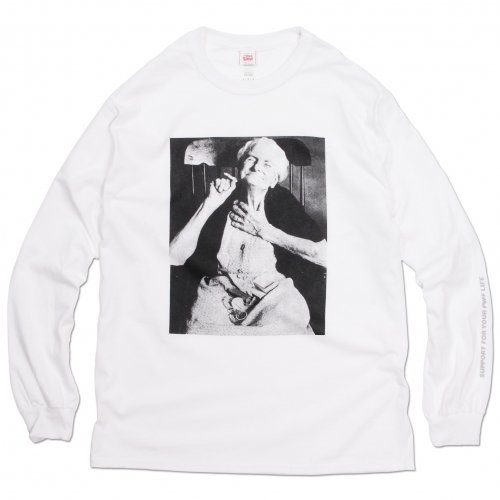 THE UNION ( ザユニオン ) ロンTEE THE ONE SHOW - GRAND MOTHER L/S TEE ( WHITE )
