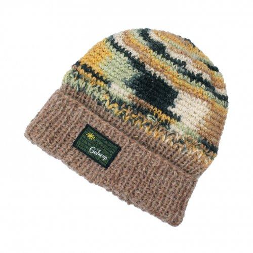 GOHEMP ( ゴーヘンプ ) ニットキャップ POKALI CAP ( BROWN ) GHG0471HPH