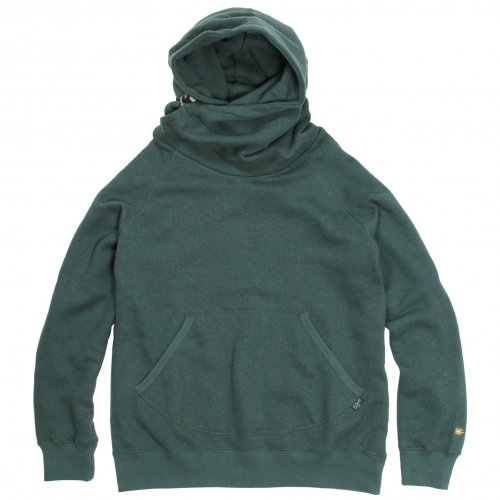 GOHEMP ( ゴーヘンプ ) MEN'S SHAWL HOODY ( TREE GREEN ) GHC4415BS19