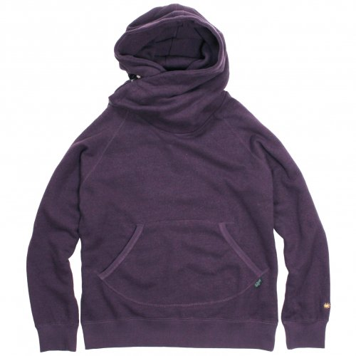 GOHEMP ( ゴーヘンプ ) MEN'S SHAWL HOODY ( PLUM ) GHC4415BS19