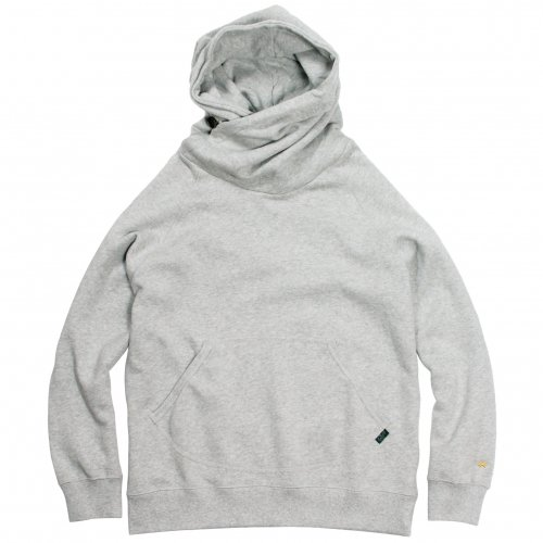 GOHEMP ( ゴーヘンプ ) MEN'S SHAWL HOODY ( ASH HEATHER ) GHC4415BS19