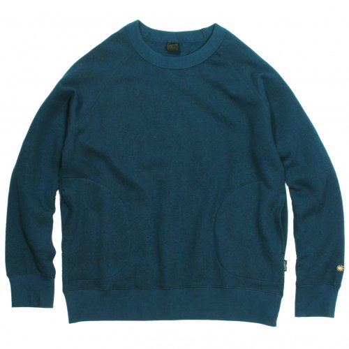 GOHEMP ( ゴーヘンプ ) クルーネック MEN'S CREW PK SWEAT ( ORION BLUE ) GHC4421BS19