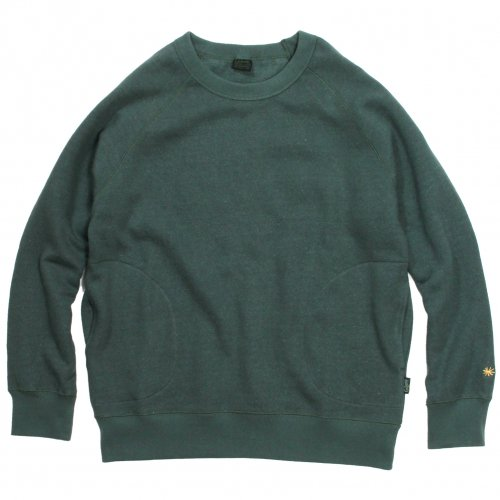 GOHEMP ( ゴーヘンプ ) クルーネック MEN'S CREW PK SWEAT ( TREE GREEN ) GHC4421BS19