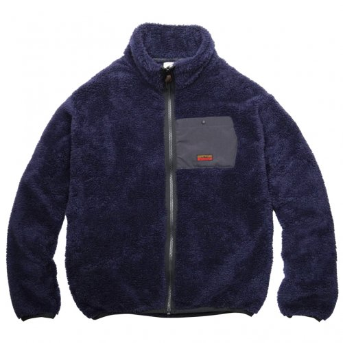DEVADURGA ( デヴァドゥルガ ) ALBA FLEECE ZIP  ( NAVY ) dg-1042