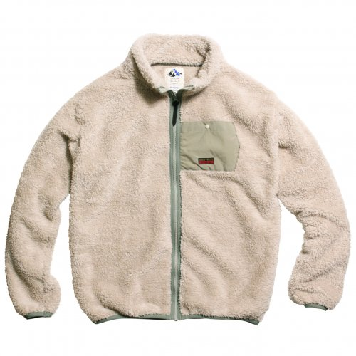 DEVADURGA ( デヴァドゥルガ ) ALBA FLEECE ZIP  ( NATURL ) dg-1042