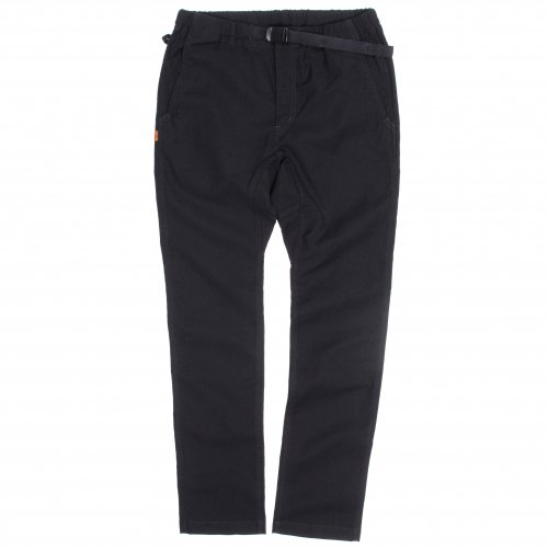 GOWEST ( ゴーウエスト ) パンツ CLIMBING TROUSERS / UNEVEN YARN BACK SATIN STRETCH ( BLACK ) GWP1065MBS