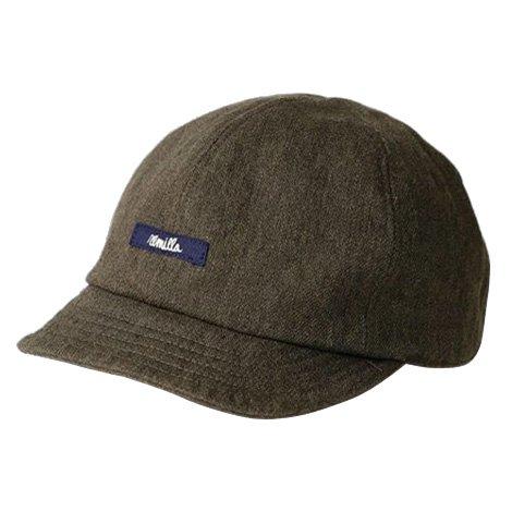 remilla ( レミーラ ) 2019A/W クロス帽 キャップ ( カーキ ) R193431