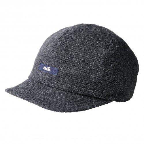 remilla ( レミーラ ) 2019A/W クロス帽 キャップ ( チャコール ) R193431