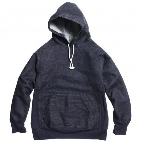 THE UNION ( ザユニオン ) プルオーバーフーディ DENIM PULLOVER HOOD ( BLUE DENIM )