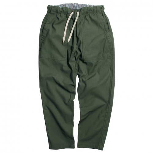 GOWEST ( ゴーウエスト ) パンツ BAKERS BANQUET PANTS / CORDURA® BACK SATIN ( OLIVE ) GWP1149CFB