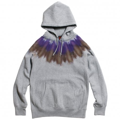"JAVARA ( ジャバラ ) パーカー ""INDIAN"" PARKA ( PURPLE/BROWN )"