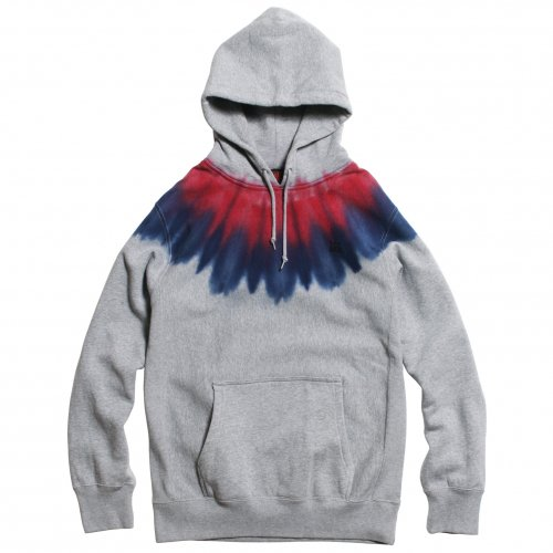 "JAVARA ( ジャバラ ) パーカー ""INDIAN"" PARKA ( RED/BLUE )"