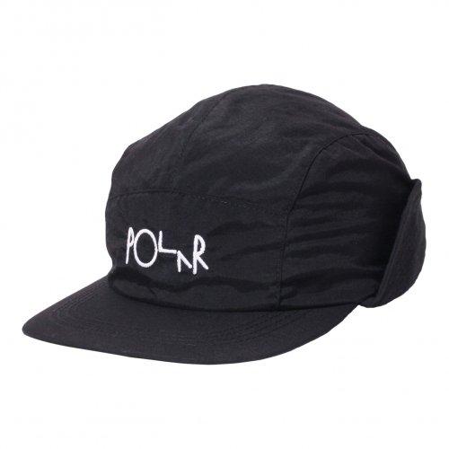 POLAR SKATE CO. ( ポーラー ) キャップ FLAP CAP ( BLACK )