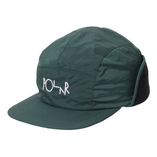 POLAR SKATE CO. ( ポーラー ) キャップ FLAP CAP ( DARK GREEN )