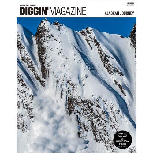 「DIGGIN'MAGAZINE ISSUE14 〜ALASKAN JOURNEY〜」雑誌