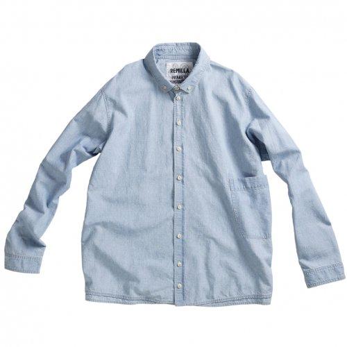 remilla ( レミーラ ) 2020SPRING 1st 予約商品 シャンブレーデクトシャツ R201205