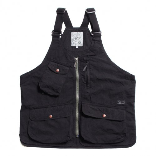 GOHEMP ( ゴーヘンプ ) ベスト MEN'S HEMP UTILITY VEST ( BLACK ) GHJ6119WTS