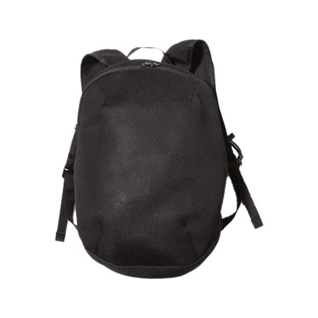 MOUN TEN. ( マウンテン ) バックパック DOUBLE RUSSELL MESH DAYPACK ( BLACK )