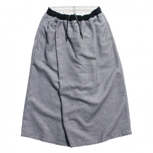 GOHEMP ( ゴーヘンプ ) パンツ LADY'S WRAP CULOTTE PANTS ( GRAY ) GHP8070PLD
