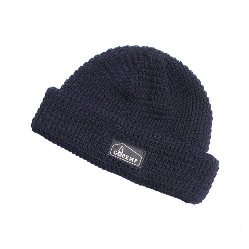 GOHEMP ( ゴーヘンプ ) ニットキャップ HEMP × ORGANIC COTTON WATCH CAP ( BLACK ) GHG0001HOW