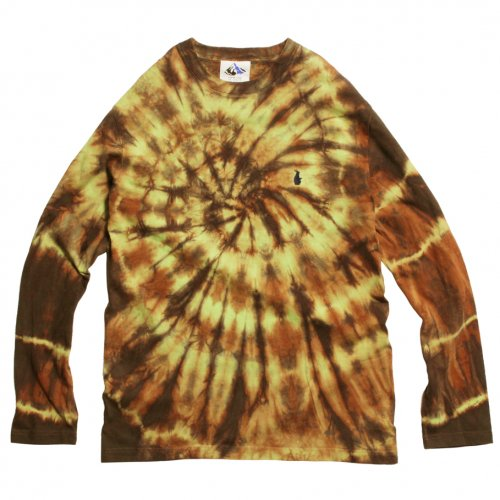 DEVADURGA ( デヴァドゥルガ ) ロンTEE CYCLONE L/S CUT SEW ( LIME ) dg-1094