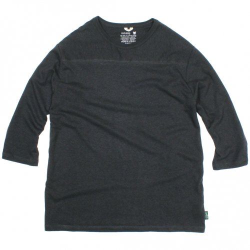 GOHEMP ( ゴーヘンプ ) フットボールTシャツ BASIC MEN'S FOOTBALL TEE ( GUNMETAL GRAY ) GHC4202RG