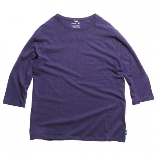 GOHEMP ( ゴーヘンプ ) フットボールTシャツ BASIC MEN'S FOOTBALL TEE ( BLUE BERRY BLUE ) GHC4202RG