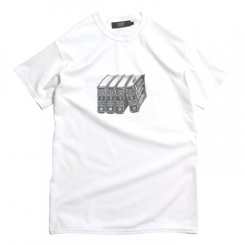 LIVE IN FAB EARTH ( リブインファブアース ) Tシャツ L.I.F.E BOOK ( WHITE )