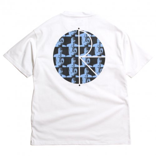 POLAR SKATE CO. ( ポーラー ) Tシャツ KLEZ FILL LOGO TEE ( WHITE ) SP20